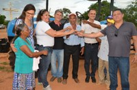 Comunidades rurais de Formosa do Rio Preto foram beneficiadas com trator agrícola