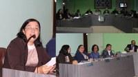 Indicação da vereadora Rosita é aprovada por unanimidade