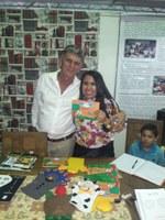 Presidente da Câmara de Formosa do Rio Preto visita a Festa Literária em Barreiras