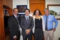 Vereadores de Formosa vão à Brasília em busca de recursos para o Município